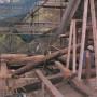 屋根構造材補修